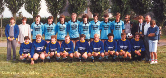 eerste voetbalploeg KV Beerst