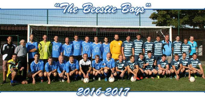 ploegfoto voetbal Beerst 2016-2017